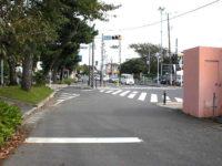 国道一号線[化粧坂]信号で合流
