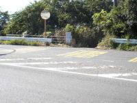 国道一号線 富士見平ドライブイン前交叉