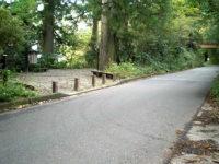 旧国道から分岐(歩道橋手前)