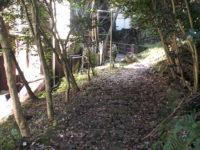 箱根湯本ホテル連絡橋の下をくぐる