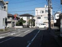 江戸側枡形(左折)