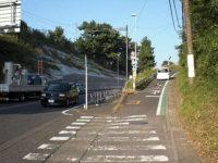 間の宿 梅沢の立場への坂道