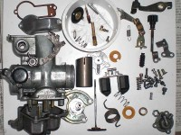 All Parts of Carburetor