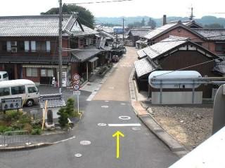 旧東海道土山入り口