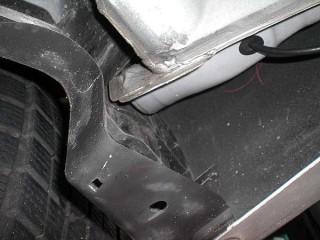 Rear Skert Inside