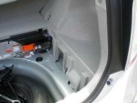 Prius バッテリスペース
